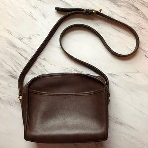Vintage Coach Leather Metropolis Crossbody Bag